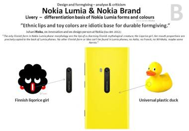 12_Design-criticism-B-leadership-Nokia-Lumia-Finnish-liqorice-girl-Yellow-plastic-duck-idiotic-forms-colors-formgiving-morphology-Juhani-Risku-arctic-architecture